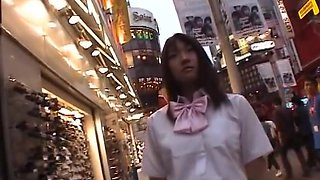 Savoury Jap babes getting dicks in public