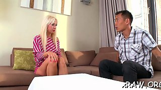 anal threesome with a pornstar feature