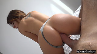 INTENSE ANAL WITH GAPING HORNY TEEN GIRL WITH BIG TITS