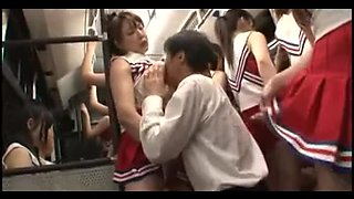 censored oriental cheerleaders panty bus adventure p2