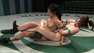 Tori Lux Gets Her Ass Kicked By Smaller Girlmade To Submit To The Tinier More Aggressive Girl - Publicdisgrace
