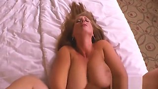 Stepmother lets step son fuck her pussy and cum inside
