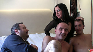 Rocio mature spanish MILF with boys