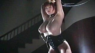 Hottest Japanese slut Marina Matsushima in Incredible Big Tits, Latex JAV video