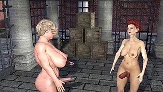 Futanari satyrs vs. the wood nymps rev2