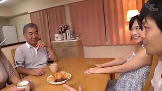 [jpnu] 0002 A Son-in-law Who Are Too Obscene With Their Mother-in-law - Fukiishi Rena