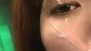 Exotic Japanese girl An Nanba in Fabulous Swallow, Cumshots JAV scene