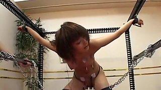 Horny Japanese chick Shinobu Kasagi, Shizuka Kanno, Rui Saotome in Fabulous Hardcore, Fetish JAV video