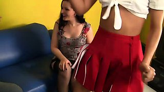 Sexy babysitter wants some action too