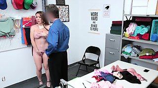 Stolen underwear made Biancas pussy pounded
