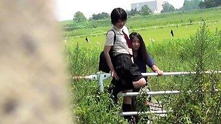 Japanese teens wetting