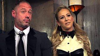 Blonde Wife Punished Her Husband