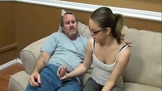 18 Teen fucked by Older Man