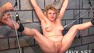 extreme bondage for hot babe video segment 1