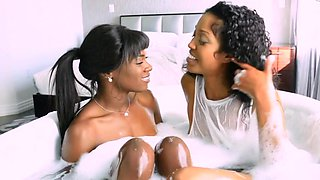 Anna Foxxx and Lotus Lain - Wettest Bedroom Ever?