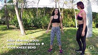 Bianca Resa in Squats - ButtFormation