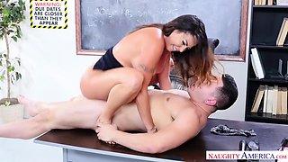 My First Copulation Teacher With Julianna Vega