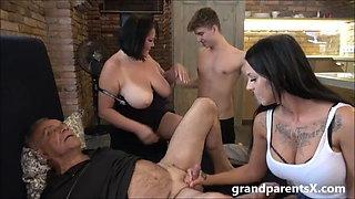 Crazy fucked up family sex