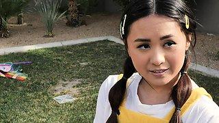 LittleAsians - Tiny Asian Schoolgirl Gets A Spanking