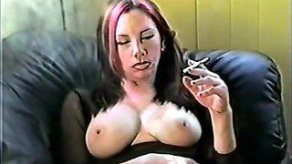 Best amateur Big Tits, Smoking xxx movie