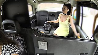 Female Fake Taxi Horny cheating bride