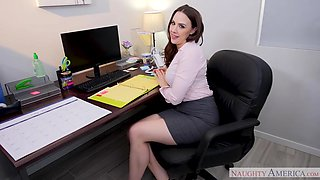 Power Hour: Break Time Means Fuck Time with Chanel Preston - naughtyoffice