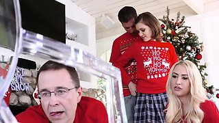 Teen braces creampie first time Heathenous Family Holiday