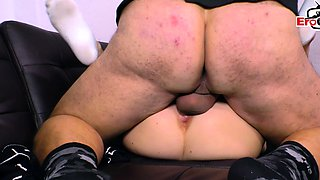 german young teen girlfirend fuck with her father