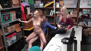 Shoplifting Mom And Daughter Get Punished