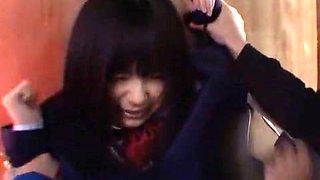 Amazing Japanese girl Hikaru Ayami, Ami Morikawa, Mamiru Momone in Incredible Doggy Style, Outdoor JAV video