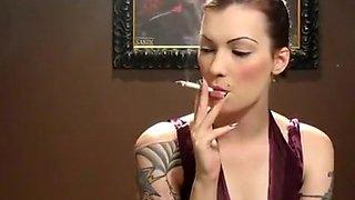 Fabulous amateur Solo Girl, Smoking adult movie