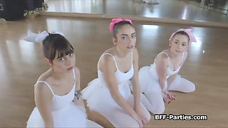 instructor fucks sexy teen ballerinas