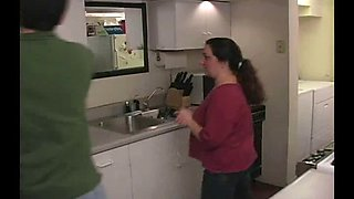 Spanking MILF In The KItchen