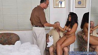 Foxx busty nurse Jenna enjoys a hot fuck with the elderly