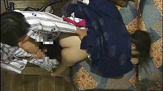 A Drunken Girl In A Japanese Inn