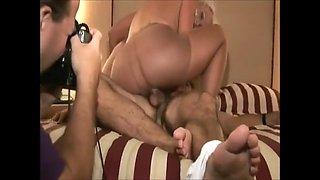 pantyhose threesome
