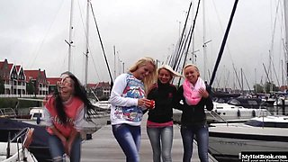 Jessie Hazz, Vanda Lust, Naomi Nevena and Daniella Rose are 4 18 year olds from Holland