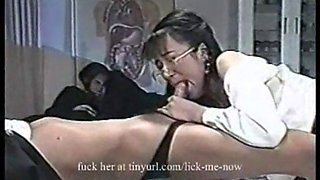 Young asian girl forced to suck cock (what&#39s her name please?)