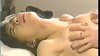 Beautiful Japanese babe knows how to use her tits and she loves passionate sex