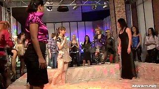 crazy reality lesbian mud wrestling tube clip