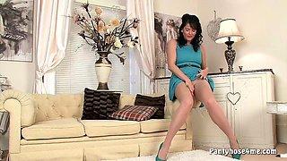 Sexy Striptease Solo in Pantyhose