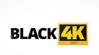 BLACK4K. Black-skinned dude licks and penetrates white...