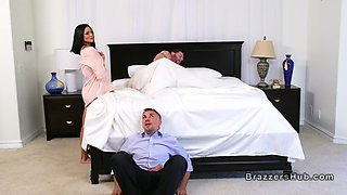petite huge boobs wife cheating husband