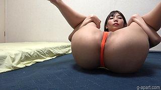 Japanese Bubble Butt Girl's Extreme Cameltoe