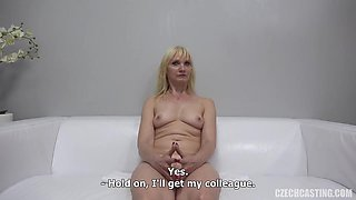 Helena Went To A Porn Video Casting To Suck Dick And Get Fucked, Until She Gets Satisfied
