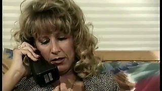 Blonde hot curly babe is fucked on the first date. Hot video. Retro