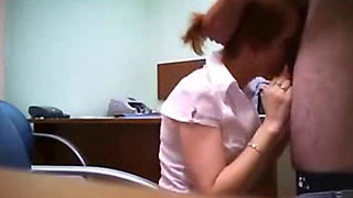 Real Secretary Fucked By Her Boss And Taped By Security Camera In His Office
