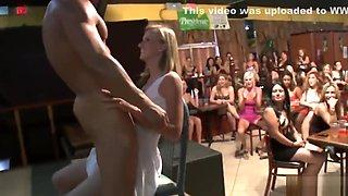 WTF my girlfriend stroking strippers wang