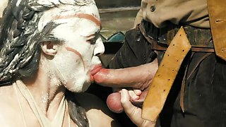 Dirty Indian threesome with Evan Stone and Tiffany Doll