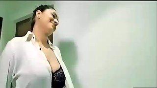 Indian beautifull big boobs doctor seduce patient for sex